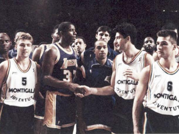 El día que el FIATC Joventut atemorizó a los Lakers de Magic Johnson