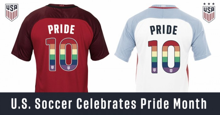 U.S. Soccer se une al Pride Month
