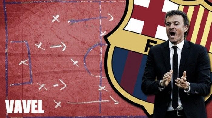 La pizarra: el Barça se ahoga en Anoeta