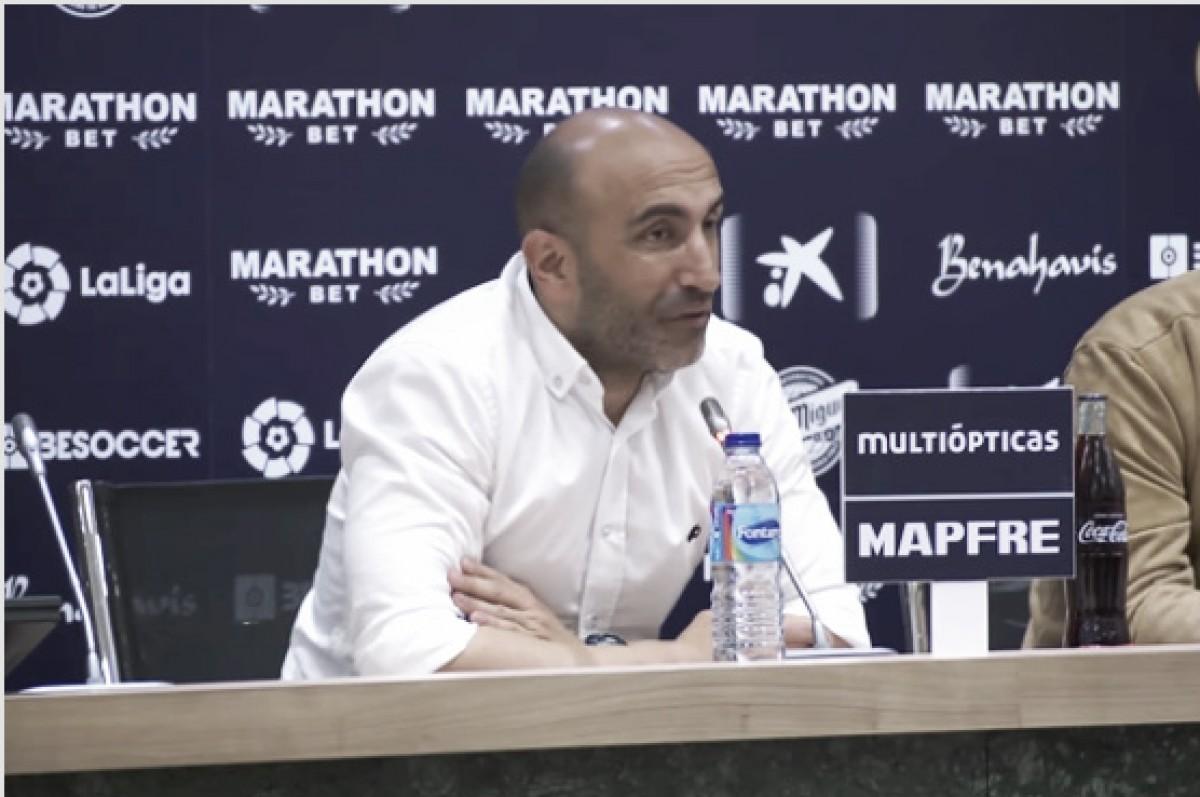 "Abelardo: ""Hemos metido tres goles muy bonitos"""