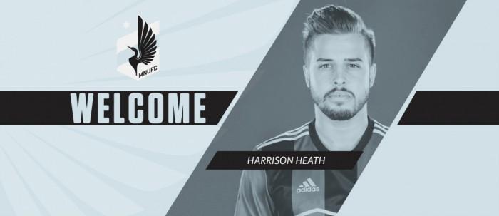 Minnesota United incorpora a Harrison Heath