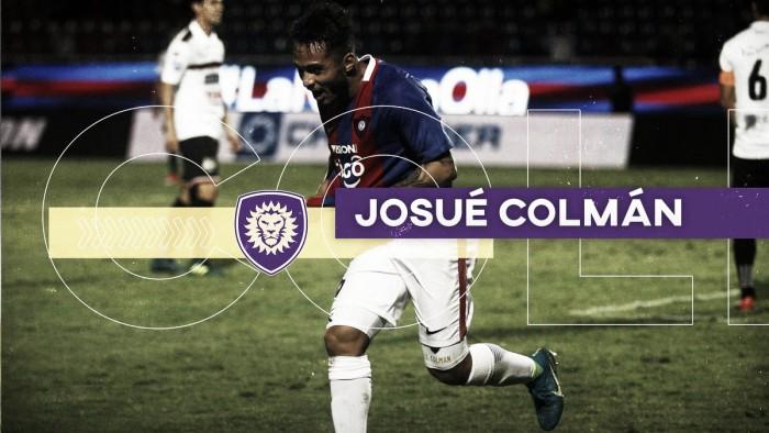 Josué Colmán firma con Orlando City