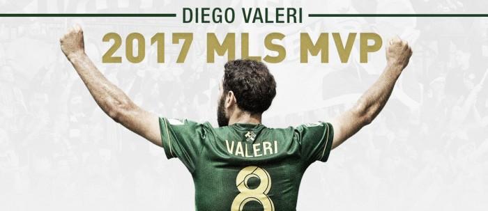 Diego Valeri, Landon Donovan MLS MVP 2017