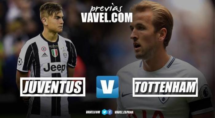 Previa Juventus - Tottenham: momento de confirmaciones