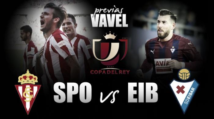 Previa Sporting de Gijón - SD Eibar: una Copa para ilusionarlos a todos
