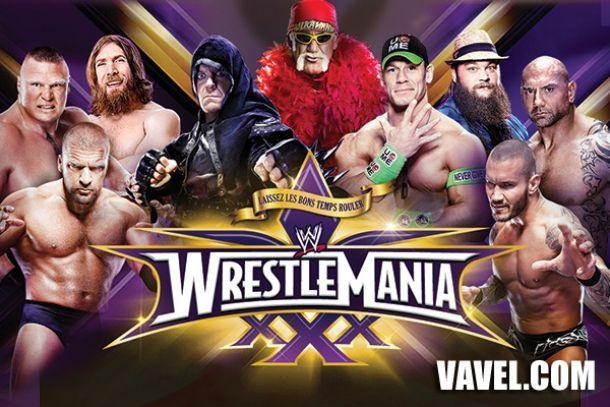 Resultado WrestleMania XXX