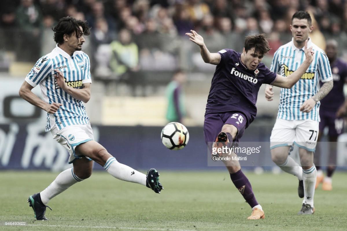 Una Fiorentina con la pólvora mojada no puede con la SPAL