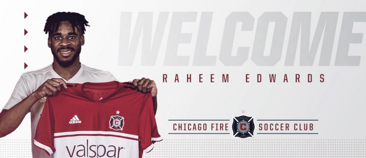 Edwards se incorpora a Chicago Fire