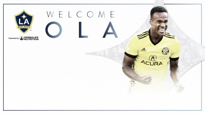 Ola Kamara goleará con LA Galaxy