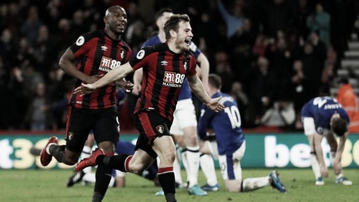 Fraser le da tres puntos vitales al Bournemouth