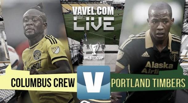 Score Columbus Crew 1-2 Portland Timbers in 2015 MLS Cup Final