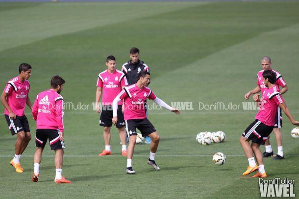 El Madrid ultima su preparación antes de viajar a Balaídos