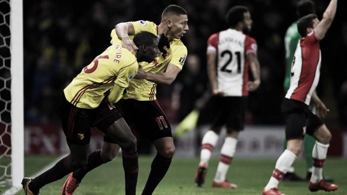 El Watford salva un punto 'in extremis' a costa de un Southampton que no levanta cabeza