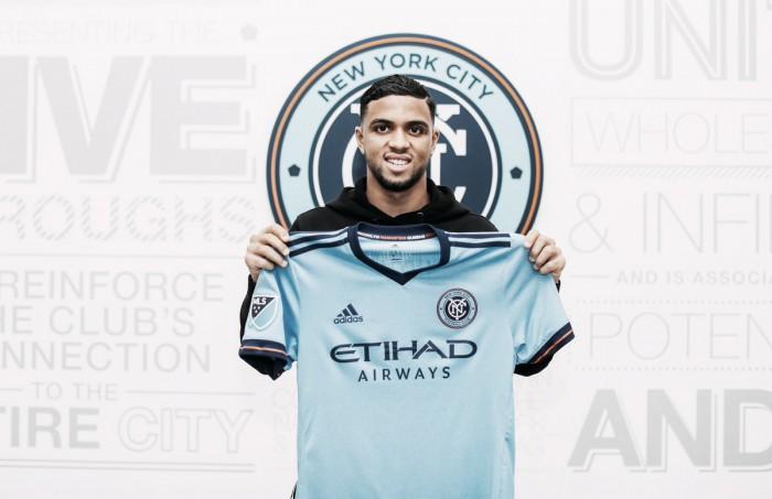 Tajouri firma con el NYCFC