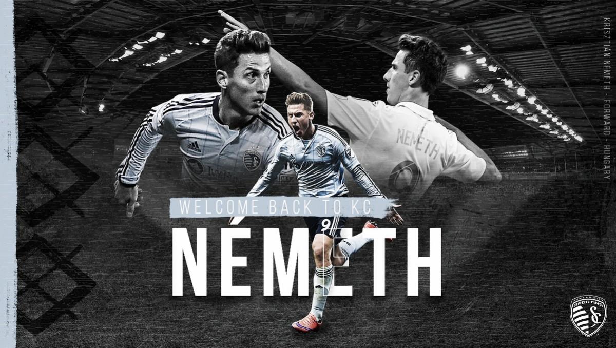 Németh vuelve a SKC