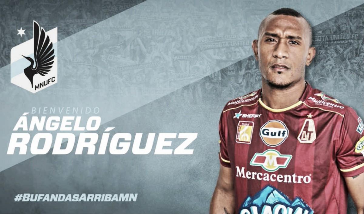 Minnesota United firma a Angelo Rodríguez