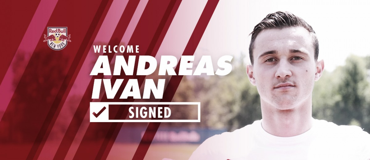 Andreas Ivan firma con Red Bulls