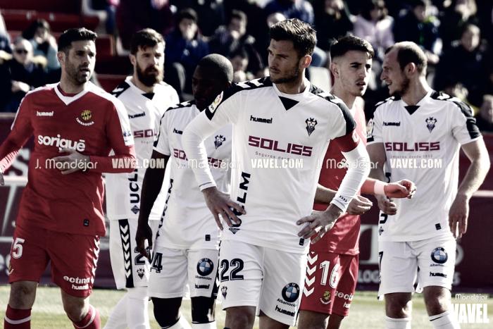 Fotos e imágenes del Albacete Balompié 0-1 Gimnàstic de Tarragona, jornada 26 de Segunda División 2018