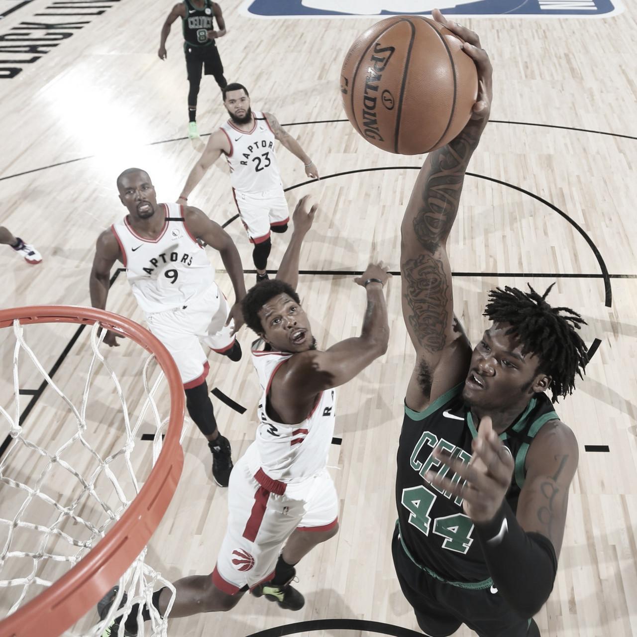 Crónica NBA: los Celtics pasan por encima de los Raptors