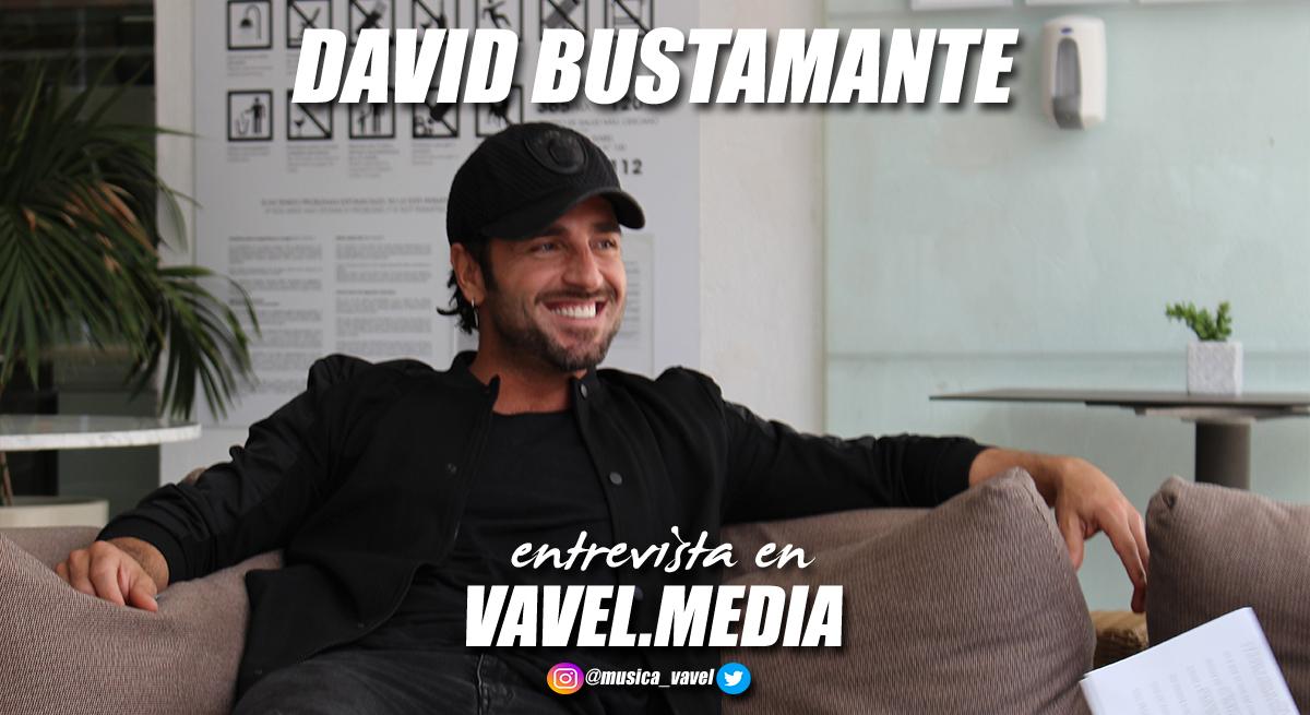 """Entrevista. David Bustamante:""""La clave del éxito es ser de verdad, no disfrazarte, porque al final una careta no aguanta veinte años"""""""
