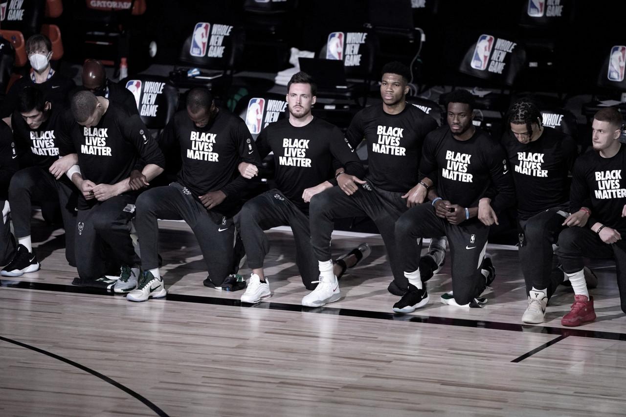 Día histórico en la NBA: los jugadores se plantan y detienen la competición