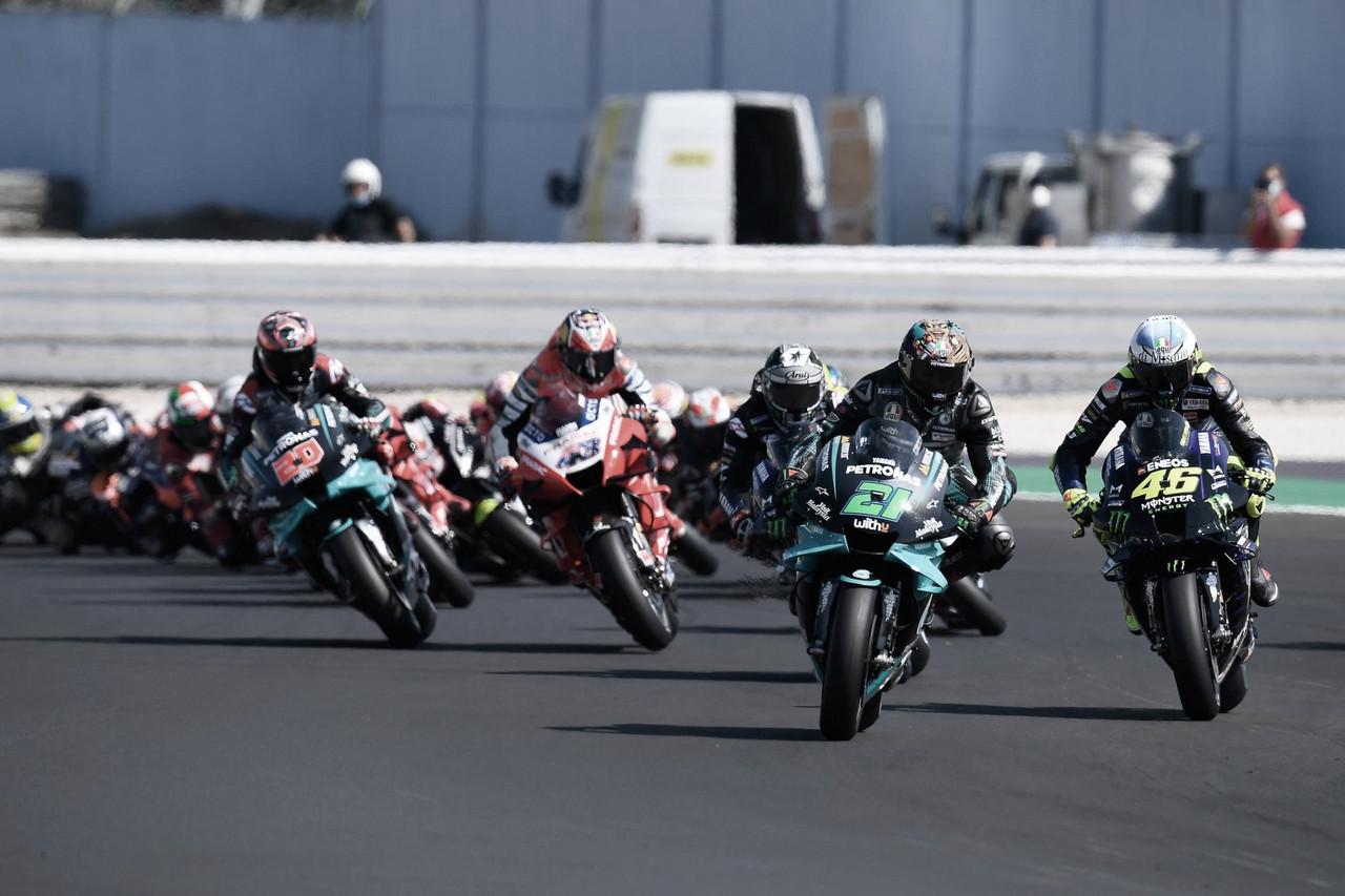 Resumen carrera Gran Premio de Portugal 2021 de MotoGP
