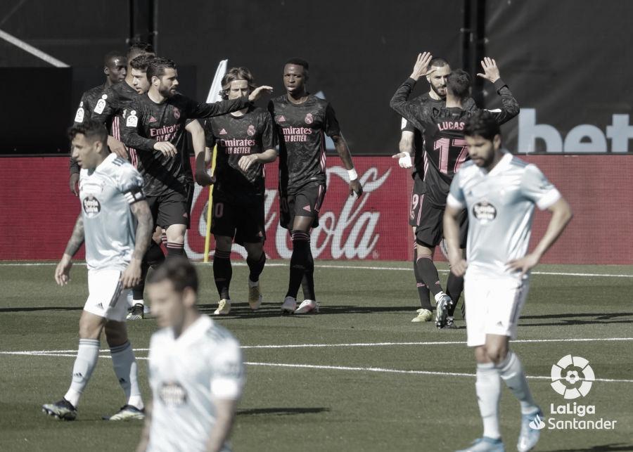 Celta de Vigo 1 - 3 Real Madrid: un déjà vú deja a los celestes en la orilla