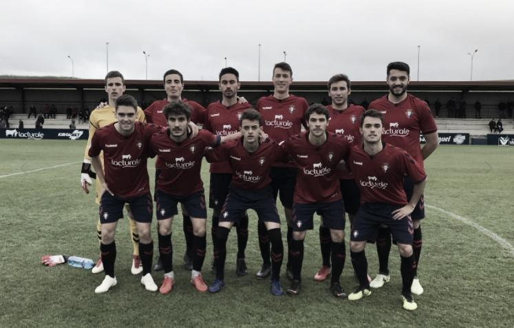 Resultados del fin de semana de Osasuna: casi pleno