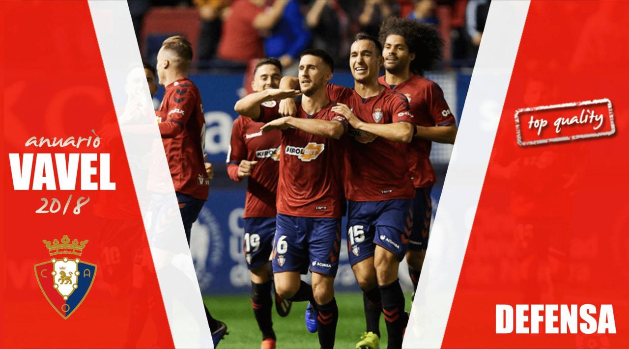 Anuario VAVEL Osasuna 2018: La defensa, una línea con pocos cambios