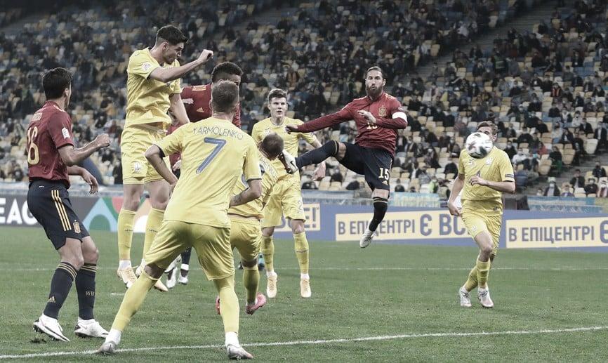 Sergio Ramos en el partido FOTO: @SeFutbol
