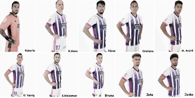 El papel de los fichajes del Real Valladolid en estas 9 jornadas
