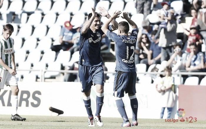 Dos golazos hunden aún más al Córdoba
