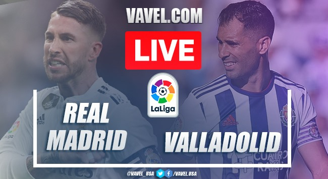Real Madrid vs Real Valladolid en vivo y en directo online en LaLiga