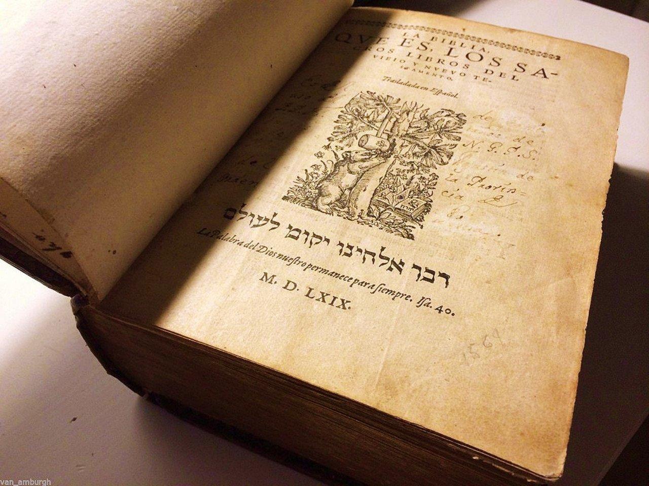 La Biblia del Oso en tiempos de Inquisición