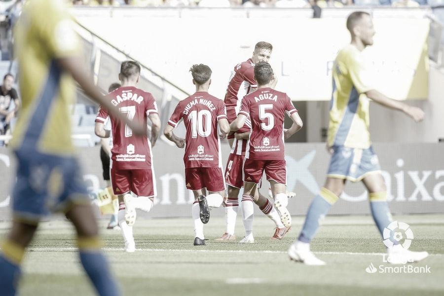 Puntuaciones UD Las Palmas-UD Almería Jornada 5 de la Liga SmartBank