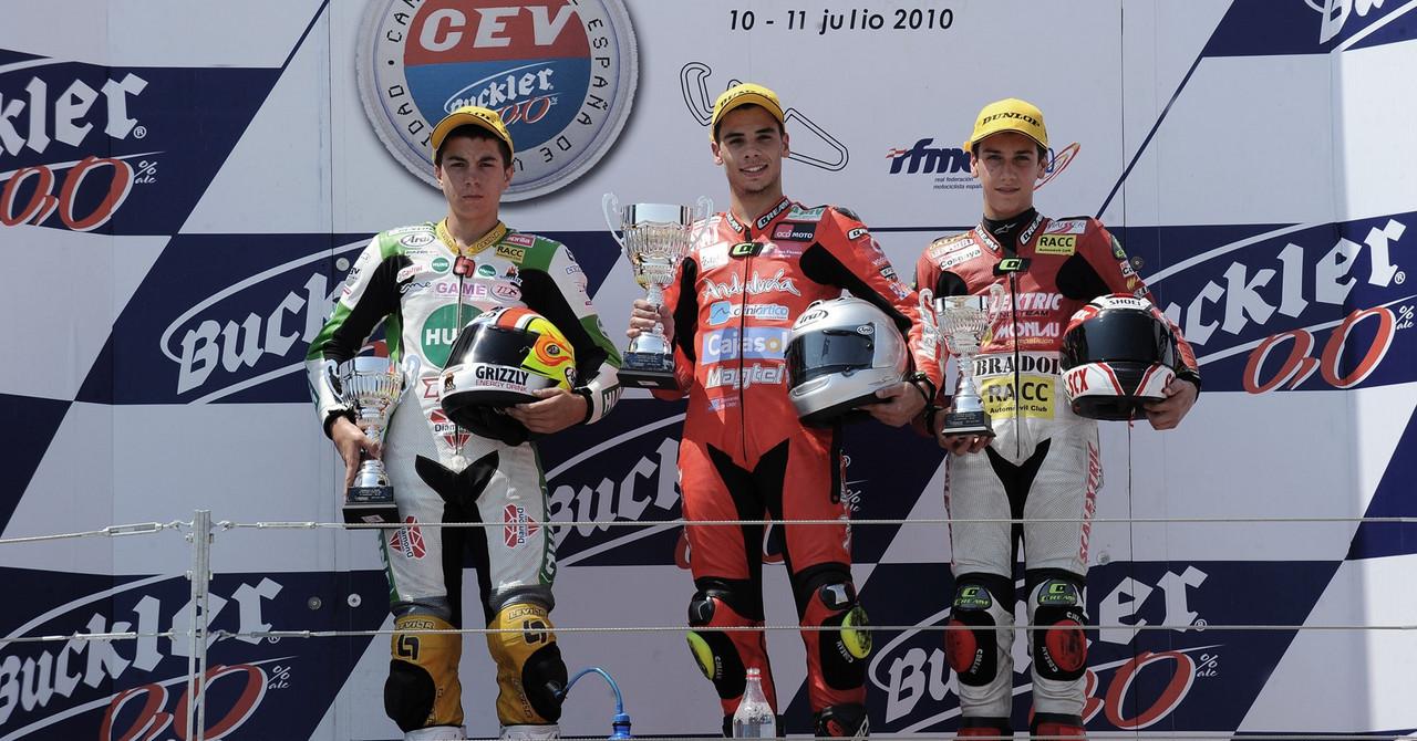 Los pilotos de MotoGP recuerdan su paso por el CEV