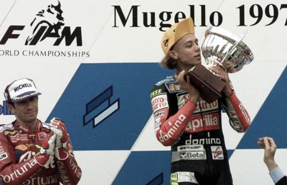 El primer contrato de Rossi: 15.000 euros