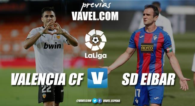 Previa Valencia vs Eibar: Vivir o morir en Mestalla