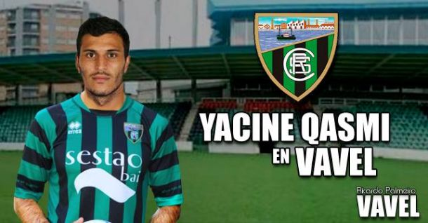 "Entrevista. Yacine Qasmi: ""En Gijón llegué a estrellar catorce balones al palo"""