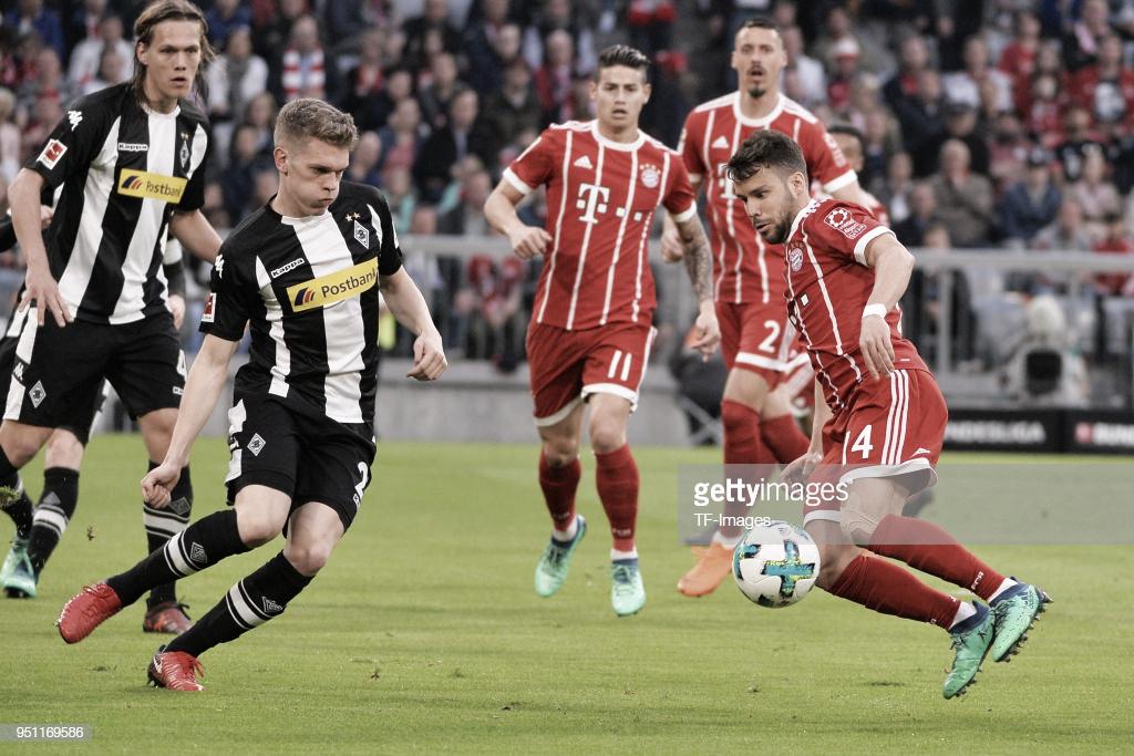 Resumen Bayern Múnich vs Borussia Mönchengladbach en Bundesliga 2018 (0-3)
