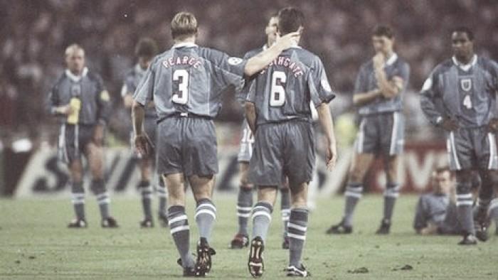 Inglaterra 1996, la maldición de los penaltis