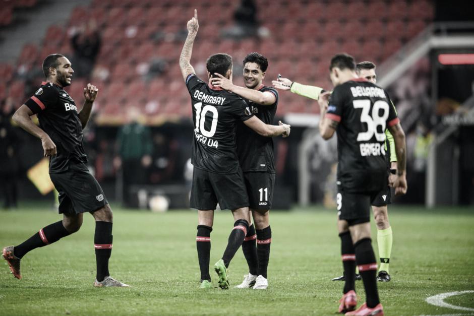 El Bayer 04 Leverkusen golea y está a un paso de la clasificación