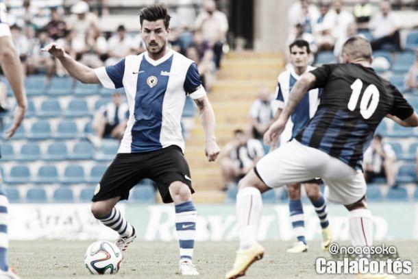 Imagen del Hércules-Huracán Valencia esta temporada. | Foto: Carla Cortés. VAVEL.com