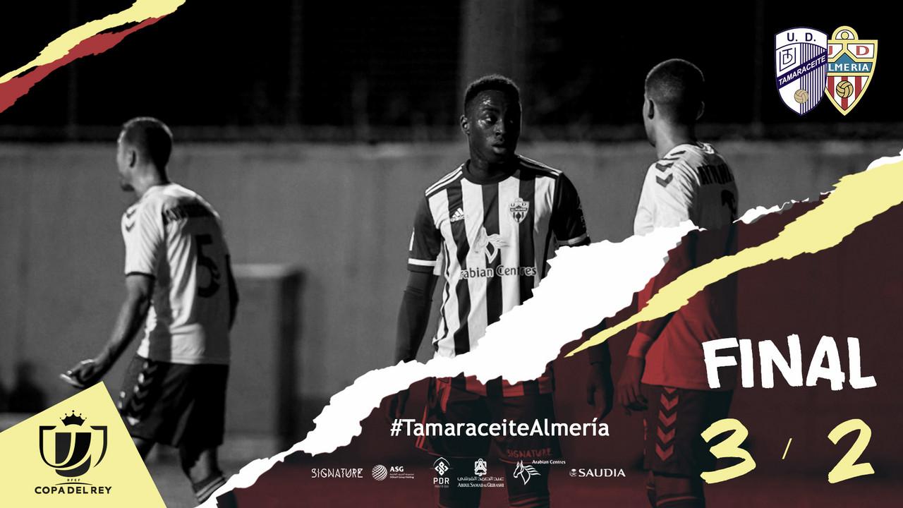 Se acabó la Copa del Rey para el Almería