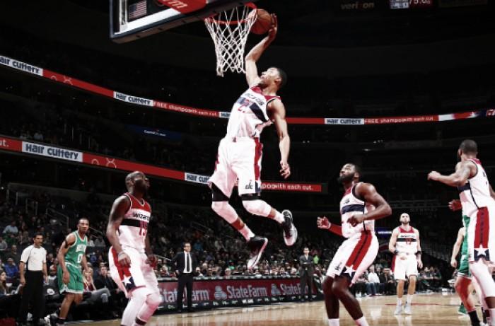 Washington Wizards dominate Boston Celtics, win 118-93