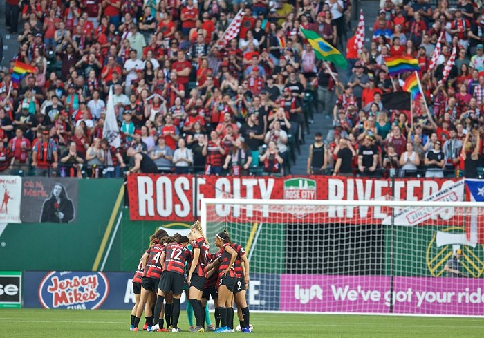 Portland Thorns at Providence Park (credit: Portland Mercury)