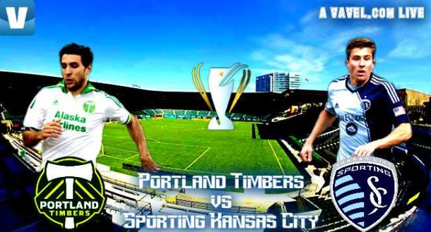 Score Portland Timbers - Sporting Kansas City in 2015 MLS Cup Playoffs (2-2)