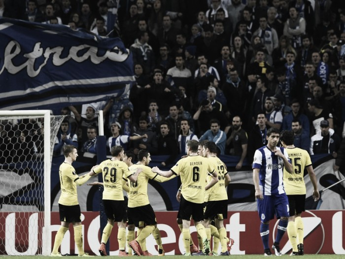 FC Porto (0) 0-1 (3) Borussia Dortmund: BVB breeze into round of 16