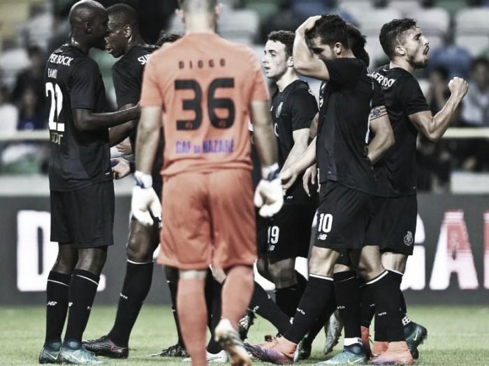 Gafanha x FC Porto: Vitória Titular