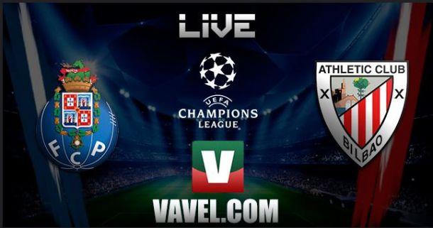 Resultado jogo FC Porto x Athletic Bilbao    na Liga dos Campeões